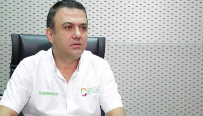 Procuraduría prorrogó suspensión provisional al gobernador de Córdoba, Edwin Besaile
