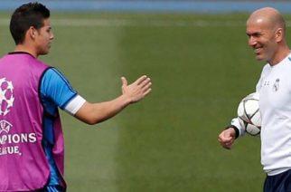James busca revancha frente a Zidane