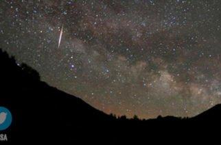 Espectacular lluvia de meteoros, verdadero regalo celestial en el Día de la Tierra