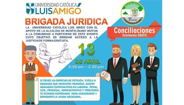 Jornada jurídica gratis en Montelíbano