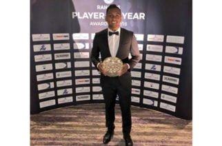 El cereteano Alfredo Morelos premiado como el mejor del año