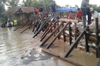 Tras fuertes lluvias CVS inspecciona puntos críticos de riberas del Sinú en zona rural de Lorica