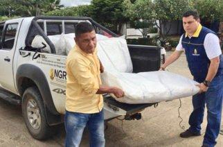 Llegaron 3.000 costales a Buenavista para evitar reboses del río San Jorge