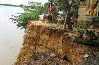 En Tierralta la erosión del Sinú no para