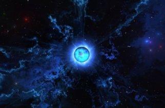 La estrella de neutrones que tiene una masa de 2,3 veces la del Sol