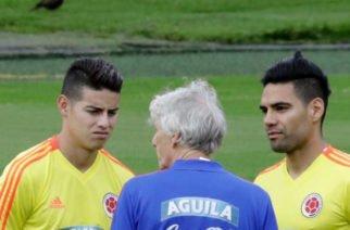James y Falcao ya entrenaron con la Selección