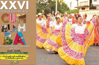 Retumban los tambores y la gaita corta machihembriá, Festival Nacional de la Cumbiamba en Cereté