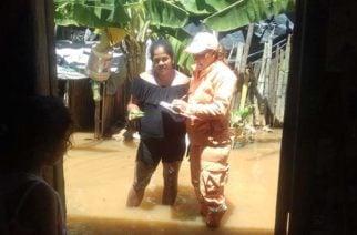 En la Apartada más de 150 familias damnificadas por desbordamiento del San Jorge