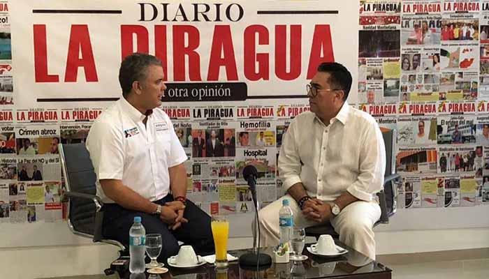 Entrevista exclusiva: Iván Duque le contó a La Piragua su proyecto de gestión presidencial