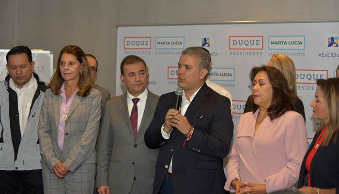 Partido MIRA anuncia su adhesión a la campaña Duque Presidente
