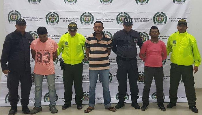 """En barrios de Montería capturan a integrantes de banda denominada los """"Samsung"""""""