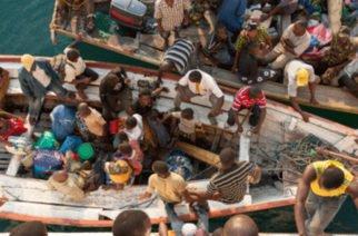 Cincuenta muertos por un naufragio en la República Democrática del Congo