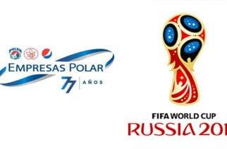 Empresas Polar compró derechos del Mundial Rusia 2018 para que pueda transmitirse en Venezuela
