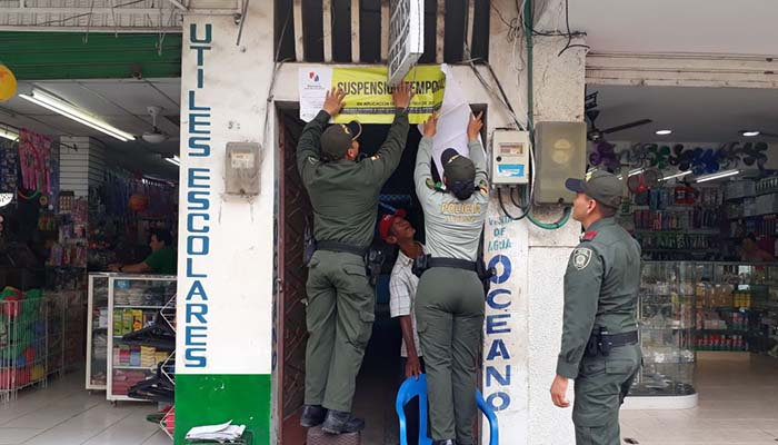 Policía de Turismo y autoridades administrativas realizan controles en hoteles de Montería