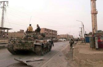 Soldados del régimen sirio mueren en bombardeos atribuidos a la coalición