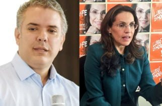 El coqueteo de Duque a Viviane Morales