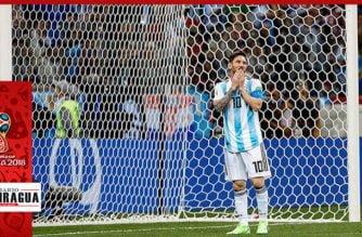 """""""Lio"""" grande en la Selección Argentina tras empate con Islandia"""