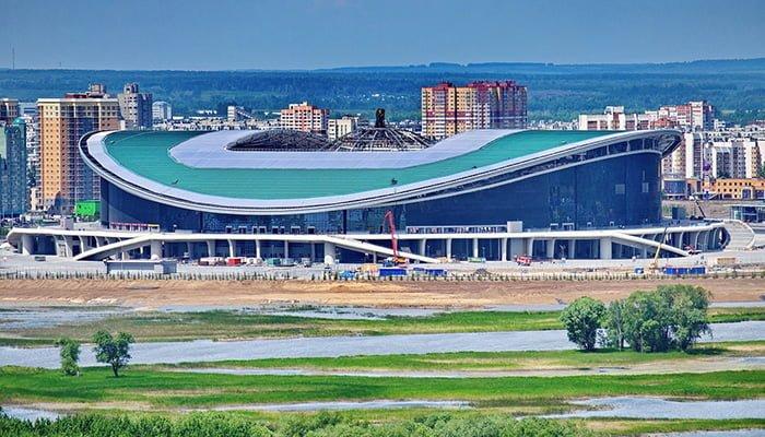 Kazán, la casa de la Selección Colombia en Rusia 2018