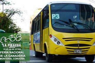 Metrosinú dio a conocer las rutas para llegar hasta el Coliseo Miguel Villamil Muñoz