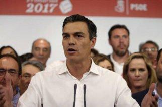 Pedro Sánchez aspira no convocar a elecciones en España hasta 2020