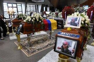 Quiteños le dieron un emotivo adiós a los periodistas asesinados por Guacho