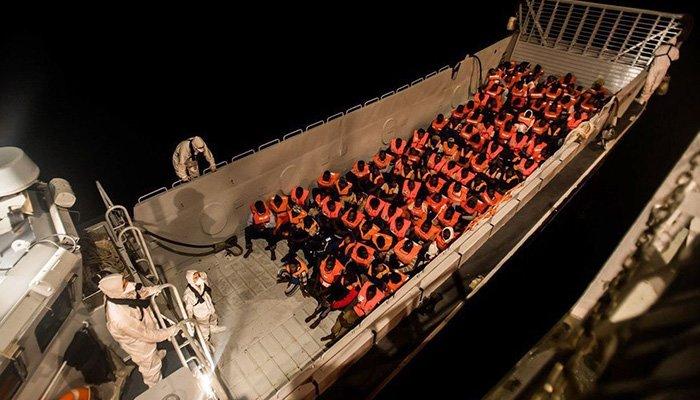 España recibirá Los 629 migrantes que Italia se negó a aceptar