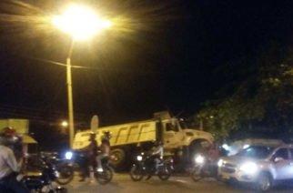Aparatoso accidente en la margen izquierda de Montería