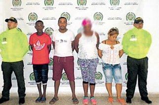 """Desarticulada la banda delincuencial """"El Hueco"""", en Santa Cruz de Lorica y San Bernardo del Viento"""