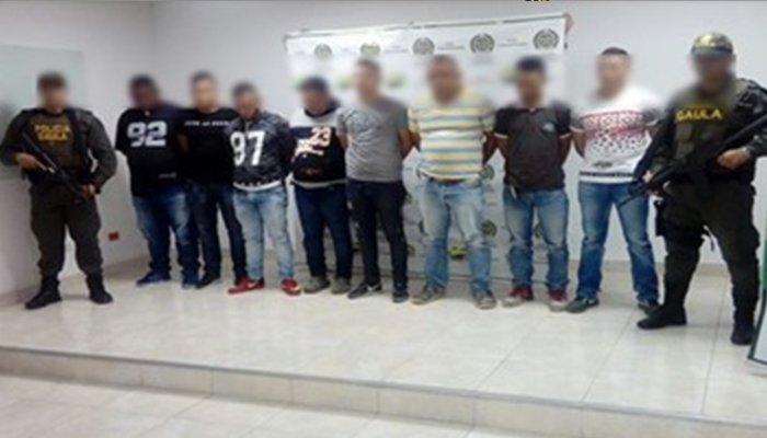 En Montería Policía da golpe a subestructuras del Clan del Golfo que extorsionaban