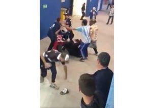 ¡Indignante! Golpiza de hinchas argentinos a aficionados croatas