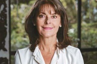 Marta Lucía Ramírez, la primera vicepresidente de Colombia