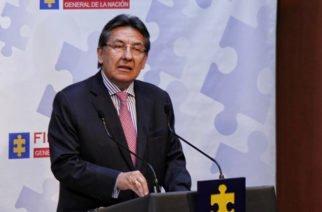 """""""Nauseabunda"""", así definió el Fiscal General la corrupción electoral"""