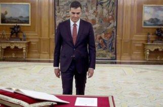 Pedro Sánchez, elegido como nuevo presidente de España