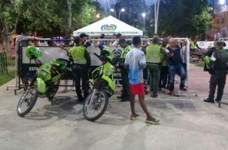 'A palo' recibieron a dos Policías en Montería cuando atendían riña familiar