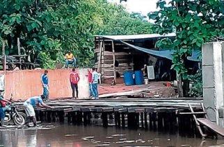 Habitantes de la vereda Los Caracoles necesitan urgente el puente