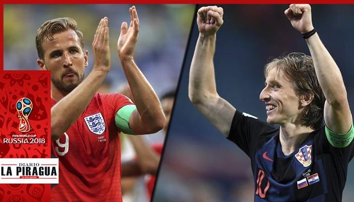 Croacia e Inglaterra definen el rival de Francia en la final de Rusia 2018