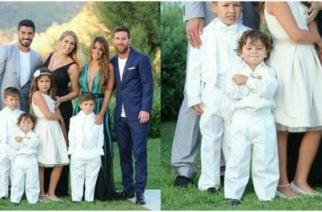 ¡Pícaro! La foto del hijo de Lionel Messi que se hizo viral