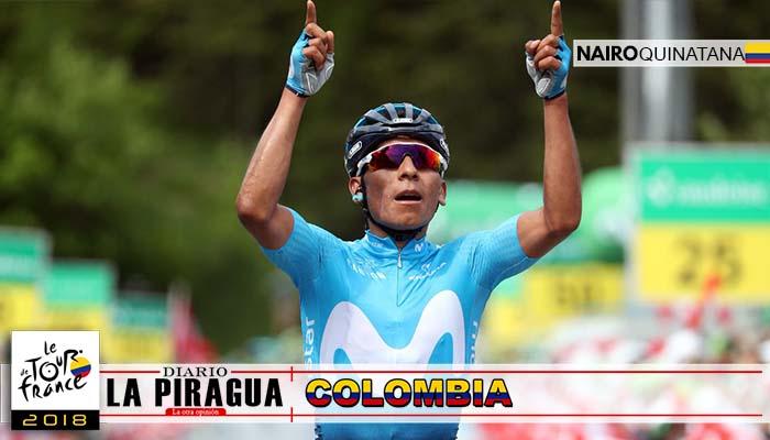 ¡GRANDE NAIROMAN! Quintana gana la etapa 17 y sube en la general del Tour