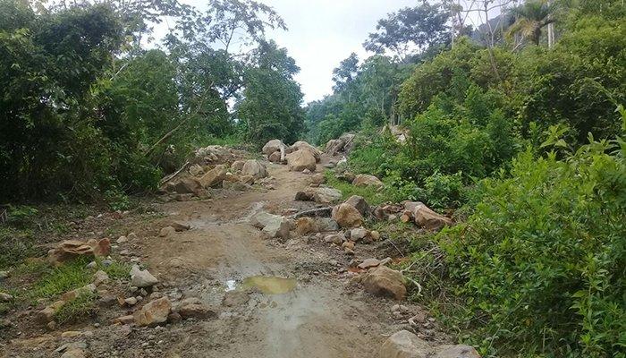 Habitantes del Corregimiento de Tierralta piden que se les habilite la vía