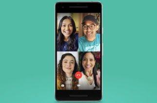 WhatsApp permite ahora hacer videollamadas grupales