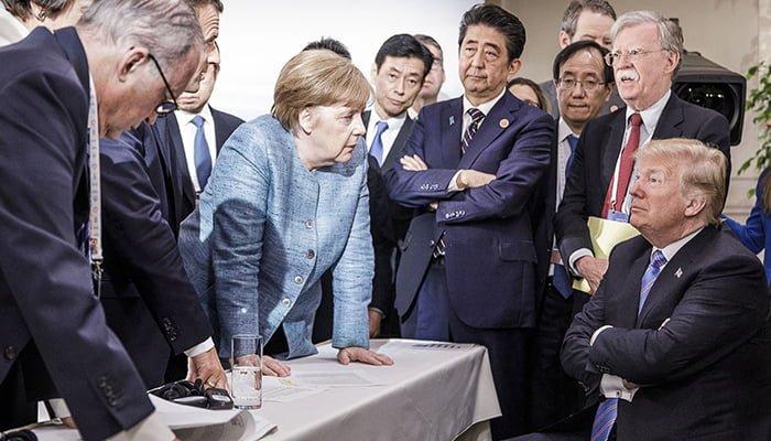 """Tras críticas de Trump, Ángela Merkel dice que Alemania decide de manera """"independiente"""""""
