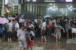 Temporada de lluvias deja 86 muertos y más de 20 millones de afectados en China