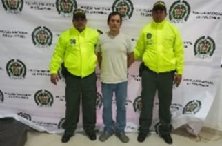 En Montería capturaron estafador de Guatemala con circular roja de Interpol
