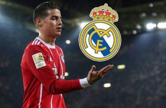 Bayern le busca reemplazo a James, este volvería al Real Madrid