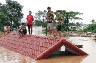 Colapso de presa en Laos deja varios muertos, cientos de desaparecidos y más de 6.000 damnificados