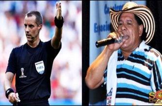 ¡Arbitro monda'o! Lucho Covo le canta al árbitro de Colombia vs Inglaterra