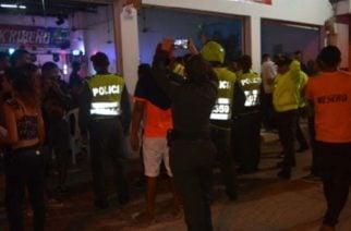 La Policía Metropolitana se toma diferentes barrios de Montería