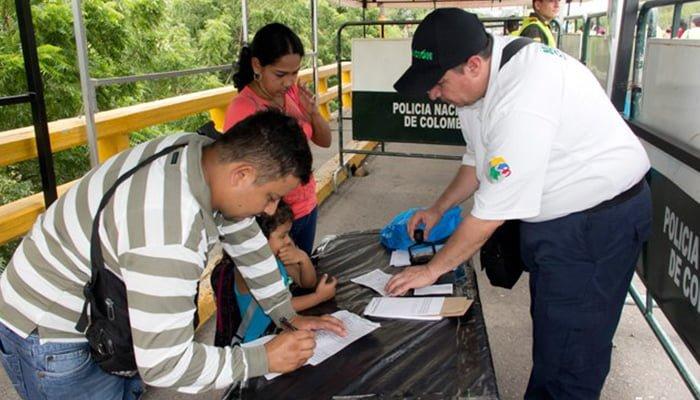 Migración halló 21.000 tarjetas adulteradas de movilidad fronteriza con Venezuela