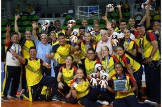 Colombia ganó medalla de plata en voleibol por primera vez en la historia