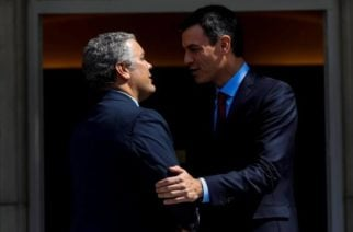 Presidente de España llegará a Colombia para hablar sobre el proceso de paz con ELN